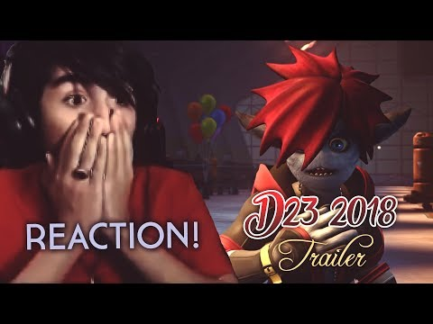 KINGDOM HEARTS 3 D23 EXPO JAPAN 2018 TRAILER REACTION!