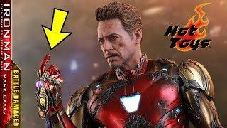 PREVIEW Hot Toys IRON MAN Mk 85 Battle Damaged - Avengers Endgame / Toys e Travels