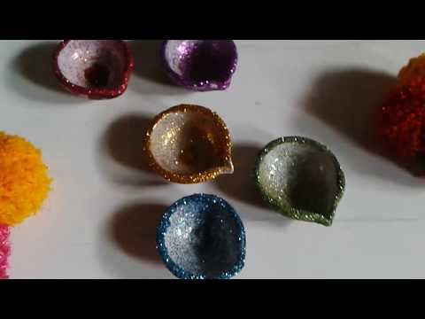 Transform Your Old Diya's Into New Ones # Tutorial