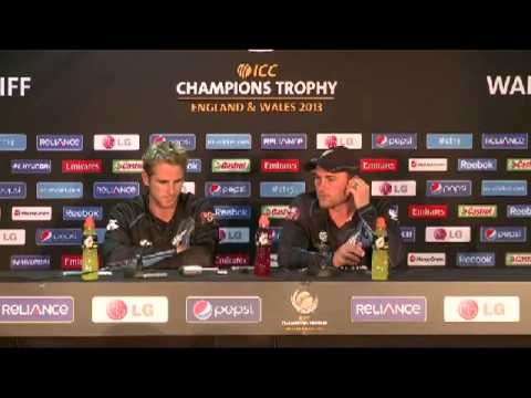 PRESS PASS: Press conference with Brendon McCullum and Kane Williamson