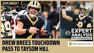 Analyzing the Film on Taysom Hill's TD Catch vs Texans | Expert Analysis | New Orleans Saints