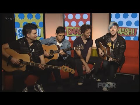 Marianas Trench- Here's To The Zeros (Acoustic)