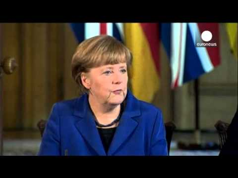 Merkel wants strong UK with strong voice inside EU
