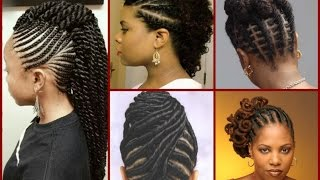 Top - 20 Flat Twist Hairstyles On Natural Hair
