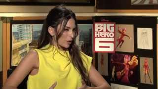 Genesis Rodriguez Talks About Her Big Hero 6 Role