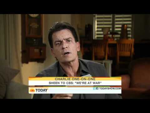 Charlie Sheen interview on the Today Show (2011.02.28)