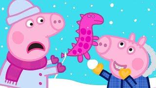 Peppa Pig English Episodes 🎄 Visiting Grandpa Pig and Grandma Pig 🎄 Peppa Pig Christmas