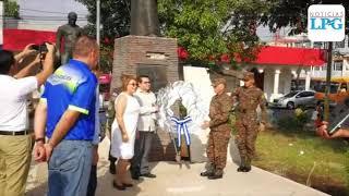 Así se conmemoró el 252 aniversario del nacimiento de José Simeón Cañas en Zacatecoluca