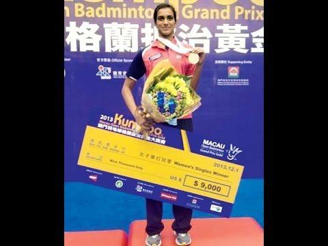 PV Sindhu clinches Macau Open title