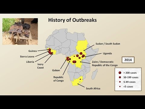 Ebola - An Introduction, and History from Discovery to West African Epidemic