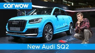 New Audi SQ2 2019 - see why it's the SUV version of the S3 and Golf R