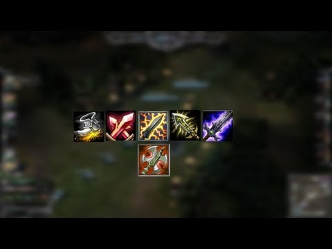 League of Legends : New Master Yi [07.31.2013] Build TEST [Co-op]
