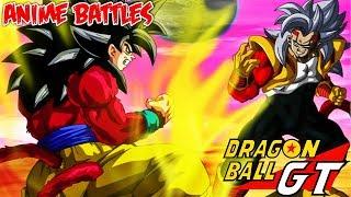 Goku SSJ4 Vs Baby Vegeta? AMV ??DBGT?Anime Battles