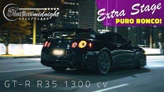 PURO RONCO NISSAN GTR R35 1300 hp  FlatOut Midnigh