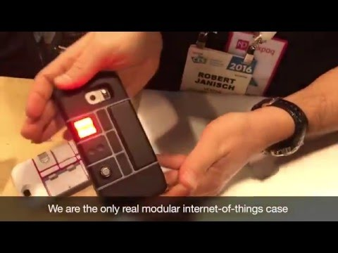 Nexpaq - World's very FIRST App Enabled Case for Apple & Samsung Smartphones, CES 2016