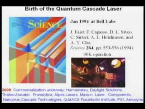 Part 1 - Quantum Cascade Lasers: Compact Widely Tailorable Light Sources from 3 to 300 µm