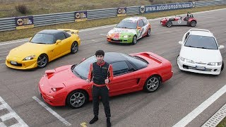 What's Honda's BEST VTEC EVER? NSX vs S2000 CR vs Integra - Davide Cironi answers (SUBS)