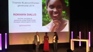Rokhaya diallo lauréate du Trophée Labcom Woman