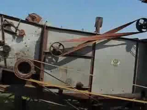 McCormick Thresher in Operation