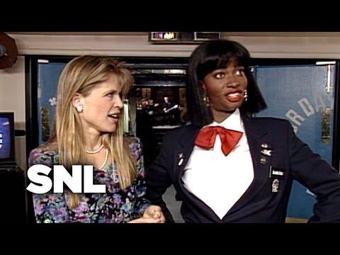 Zoraida and Linda Hamilton - Saturday Night Live