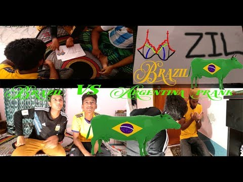 Argentina vs Brazil new prank 2018 |funny video|prank |comedy|tawhid afridi new prank