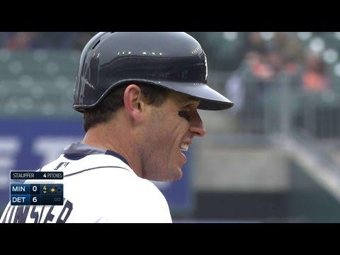 MIN@DET: Kinsler's RBI single puts Tigers up six