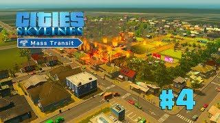 Cities Skylines | EP 4 | SE ME QUEMA LA ZONA INDUSTRIAL DE MADERA!!