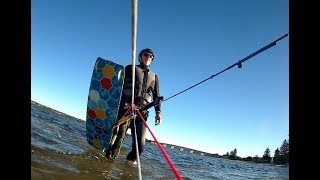 17M Buzz Kite in 10 knots