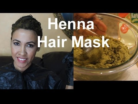 Henna Tutorial, Dye your hair naturally with henna. Mixing henna Birmabb