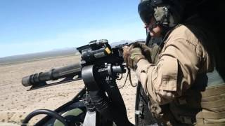 US MILITARY POWER in Action with Gatling and Machine Gun Live Fire