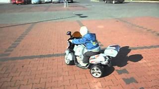 Motor na akumulator pierwsza jazda