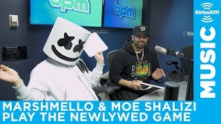 Marshmello and his manager get their knowledge tested on SiriusXM BPM