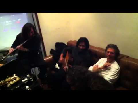 Chick Corea's Flamenco Heart: backstage jam session