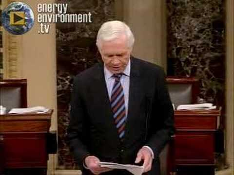 GLOBAL WARMING SENATE DEBATE: Sen. Thad Cochran (R-MS)