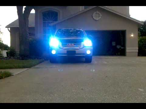 2006 Gmc Envoy Hid Kit 10000k Youtube
