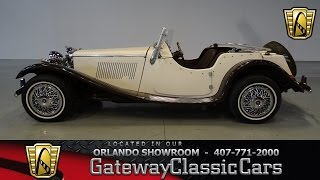1937 Jaguar SS100 Replica Gateway Classic Cars Orlando #424