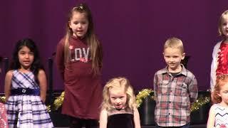 2018 K-4 Haines Schools Christmas Concert - Kindergarten
