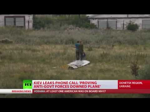 Kiev leaks phone call 'proving self-defense forces downed MH17'