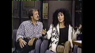 Cher - Late Night With David Letterman part2 (13.11.1987)