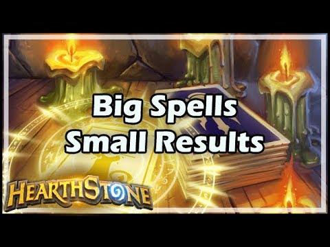 [Hearthstone] Big Spells, Small Results