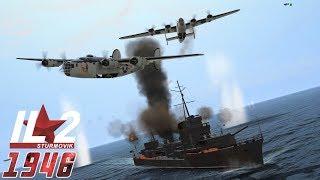 IL-2 1946: Liberator Convoy Attack