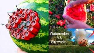 Experiment: Watermelon vs Firework || Sutli Boom Experiment || Science Projects and Experiments