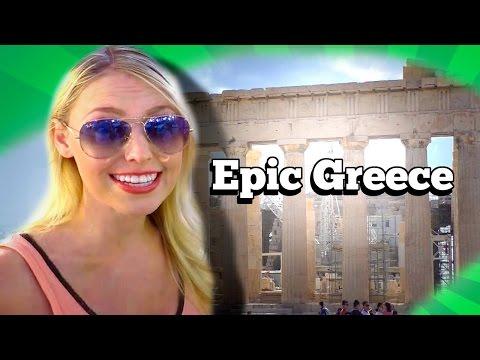 Epic Greece Travel Video Pt. 1, Acropolis, Food, Fish Market, Music, Culture. Jenn Barlow