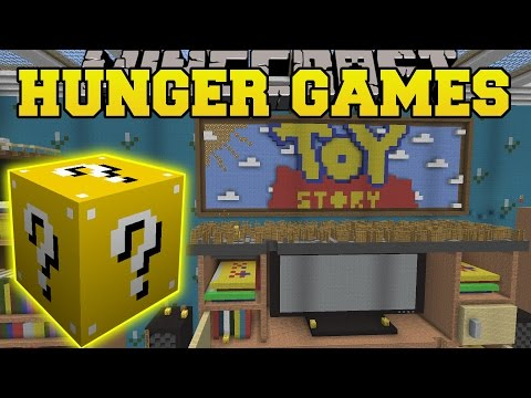 Minecraft: Toy Story 2 Hunger Games - Lucky Block Mod - Modded Mini-game video