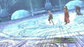 Final Fantasy X 2 Remastered - Tidus Auron and Seymour Vs Lucil Yaibal and Elma