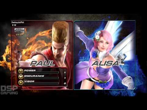 Tekken Revolution Day 1 gameplay pt1