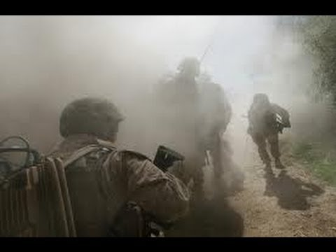 U.S. Army in Afghanistan Real Combat - Heavy firefight HD