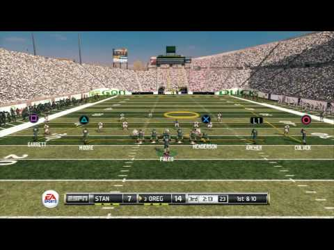 NCAA Football 2011 Road To Glory - Oregon vs. Stanford