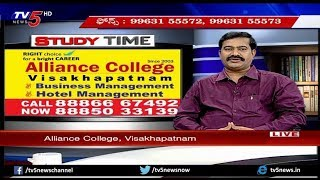 Hotel Management andamp; Business Management Courses | Alliance College | Study Time