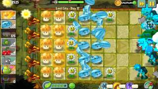 Lost City Gameplay Level 17~32 - Hack Preview - Plants Vs Zombies 2 It